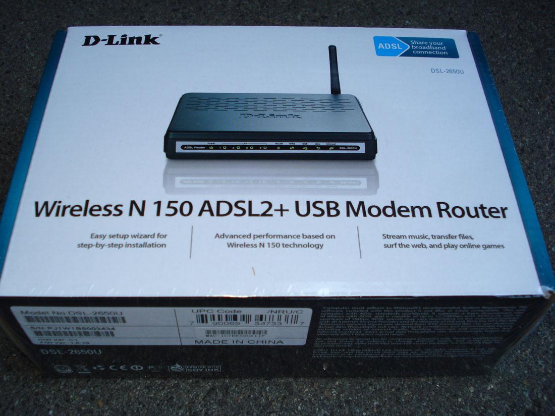 Wi-fi маршрутизатор (роутер) d-link dsl-2650u/b1a/t1a
